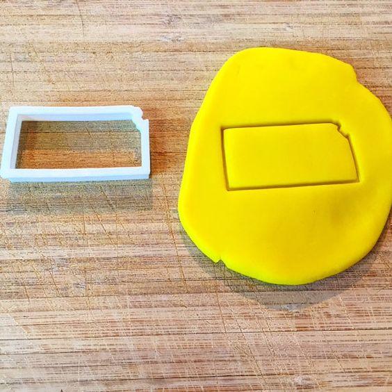 Kansas Cookie Cutter! #3DTS #3DPrinting #CookieCutter #Baking #Kansas #KU #states