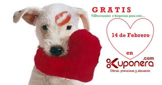 GRATIS este 14 de Febrero promociona %Descuentos en todas las Redes Sociales con KUPONERA->http://www.kuponera.com/