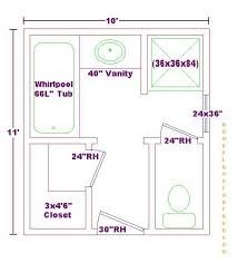 Image result for 10x12 master bath closet future home for Master bathroom floor plans 10x12