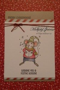 stampin up merry mouse - Google Search