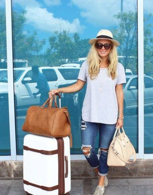 Travel Is Kind Of Like Life Except It Happens Someplace Else You Wake Up You Eat You Go Out And See Th In 2020 Cute Travel Outfits Travel Outfit T Shirt