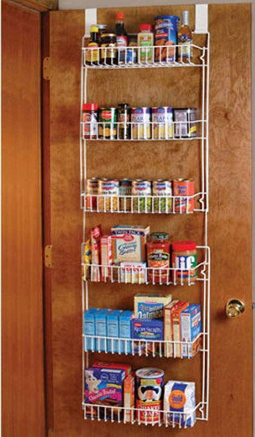 Good Concept Over The Door Storage Shelf Kitchen Pantry Rack Organizer Spice Space Saver Kitchen Space Savers Cabinet Door Storage Door Storage
