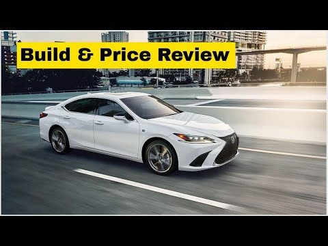 2020 Lexus Es 350 F Sport W Red Interior Build Price Review Feature In 2020 Lexus Es Lexus Red Interiors