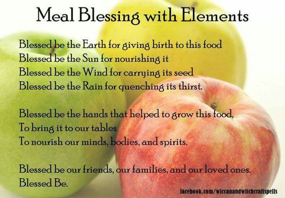 Meal Blessings