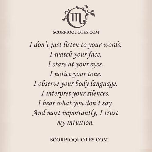 Scorpio Facts #003 | Scorpio Quotes Pinterest@Sagine_1992Sagine☀️