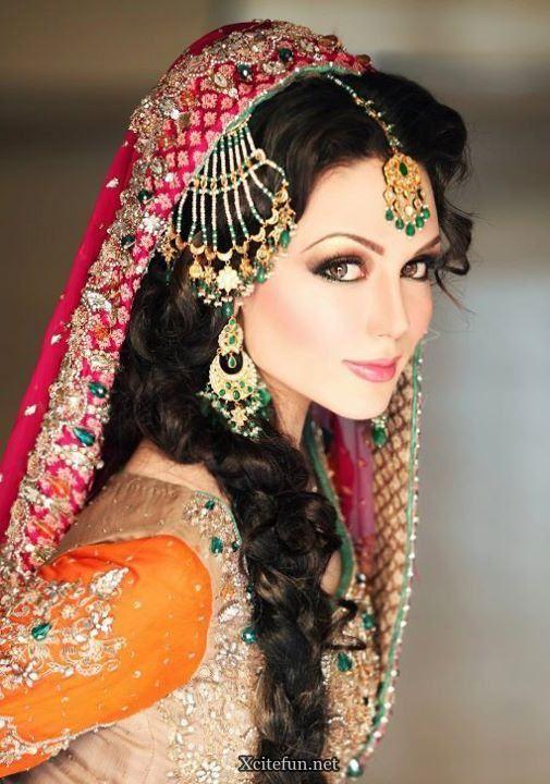 Latest Pakistani Bridal Makeup Dresses Collection 2012 Pakistani Bridal Makeup Pakistani Bridal Latest Bridal Makeup