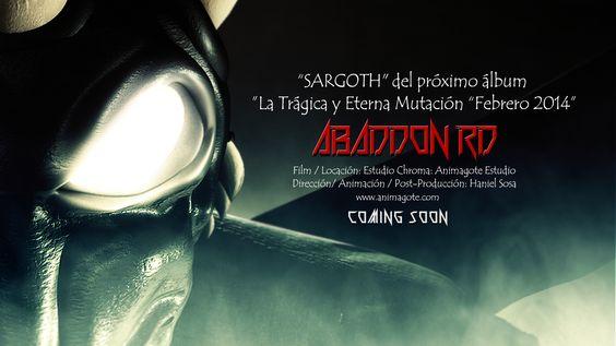 """Sargoth COMING SOON Pronto para ser lanzado el vídeo oficial de """"Sargoth"""" del próximo álbum 'La Trágica y Eterna Mutación """"en febrero 2014  Dirección / Animación / Post-Producción Haniel Sosa www.hanielsosa.blogspot.com  Ver Coming Soon! http://youtu.be/FxeZXYcUcvA"""