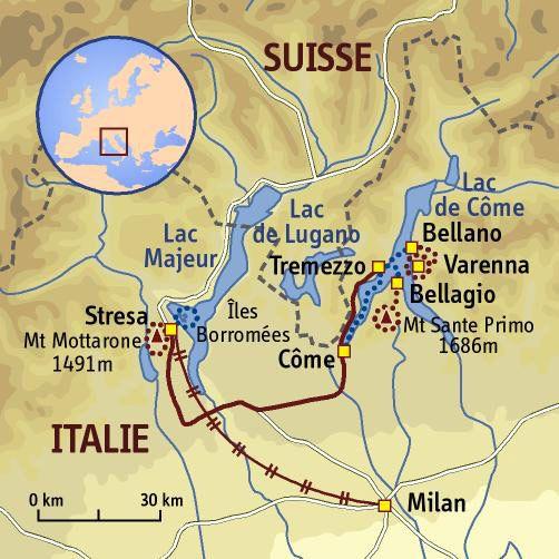Epingle Par Jeau Sur Milan En 2020 Carte Italie Lacs Italiens