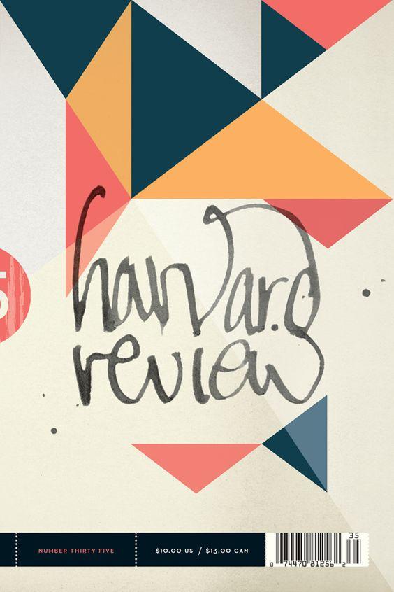 Harvard Review #35 | Designer: Alex Camlin