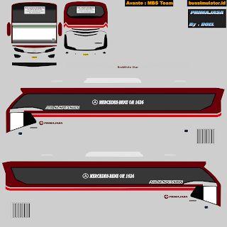Kumpulan Livery Bus Simulator Indonesia Maleo Terbaik Di 2020