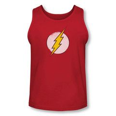 The Flash Distressed Logo Adult Tank Top $24.99 with free U.S. shipping