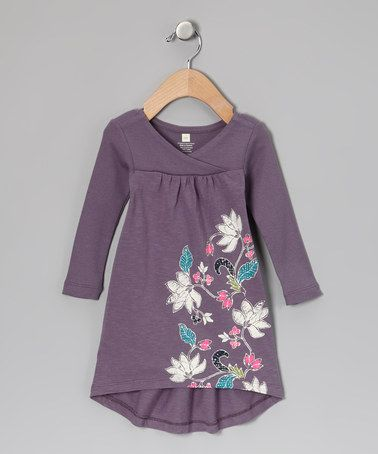 Take a look at this Dusk Sky Magnolia Batik Dress - Infant by Tea on #zulily today!