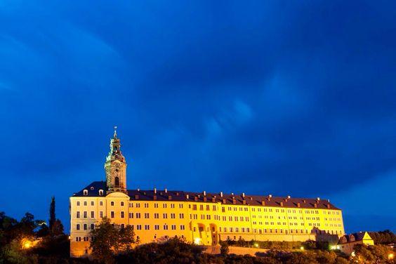 Blaue Stunde über Rudolstadt
