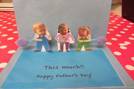 How to make a Pop Up Father's Day Card from Multiple Mummy