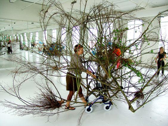 gerda steiner & jörg lenzlinger :: meanwhile in the bush..... ,   kunsthallen brandts odense, denmark, 2012