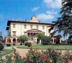 Italian Villas: Villa medicea di Poggio a Caiano, Toscana