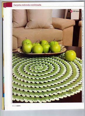 *Artes da Juliana*: Toalha de mesa graphed