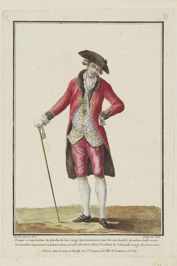 1779, Gallerie des Modes et Costumes Français: