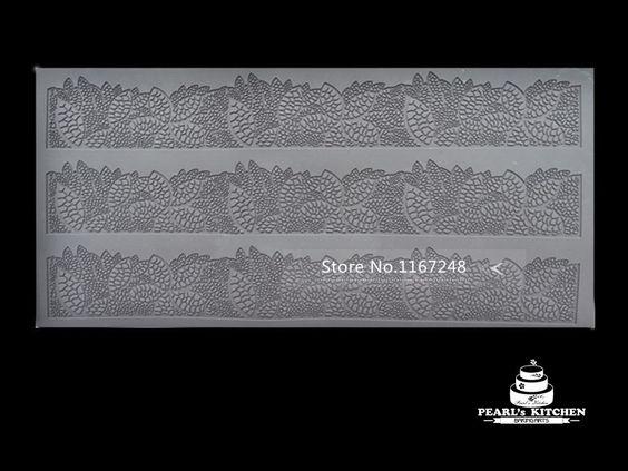 grande taille 40cm*20cm tapis en silicone gâteau fondant outils dentelle silicone moule à cake ustensiles de cuisson moldes outils de cuisson dans Ustensiles de cuisine de Maison & Jardin sur AliExpress.com   Alibaba Group