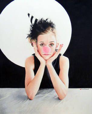 "Saatchi Art Artist anna hammer; Drawing, """"Amused To No End"""" #art"