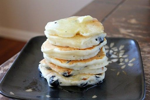 Cream & Greek Yogurt made these the richest (and thus the BEST) pancakes