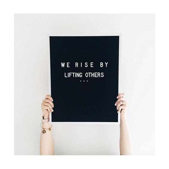 Today's as good as any day to rise up #motherhood @letterfolkco : @kindredand.co