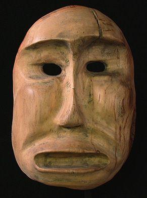 Shaman mask  Inuit people, Alaska: