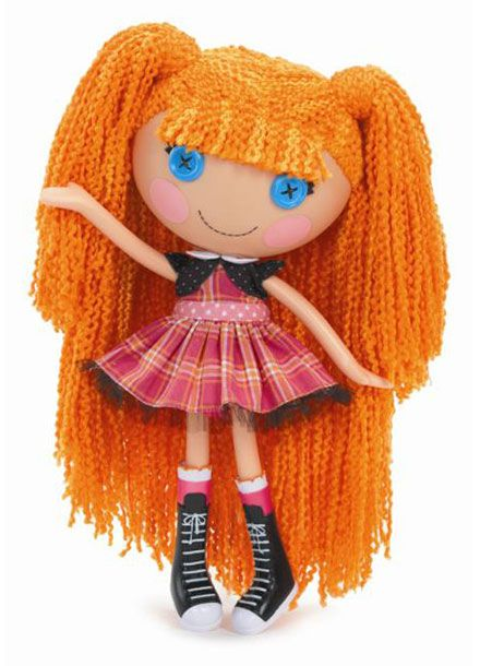 These Lalaloopsy™ have extra soft, long Loopy Hair™ that