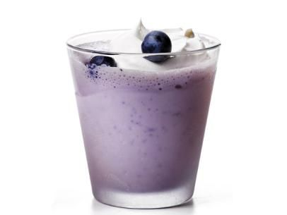Blueberry Malt Milkshake from #FNMag