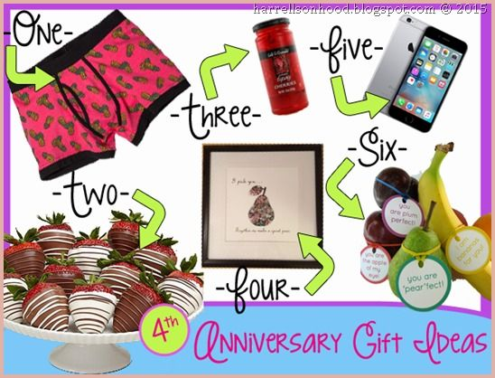 4th Wedding Anniversary Gift Ideas 14 Notion That Prove Your