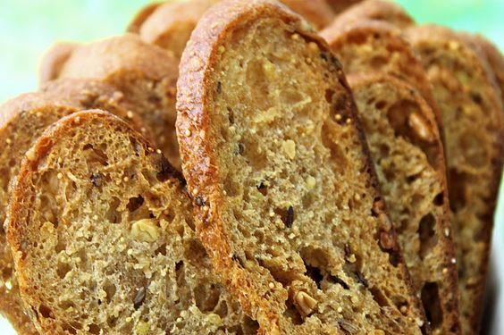 The Café Sucré Farine: Whole Grain Bread Crisps