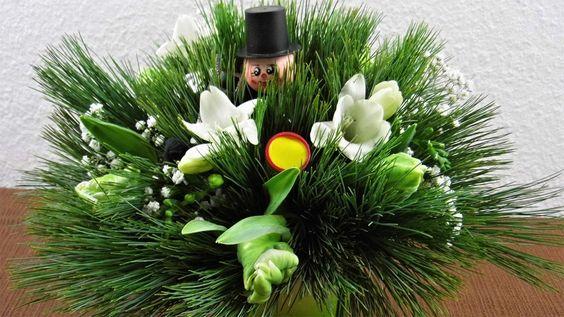 Blumenstrauß für die Silvesterparty Floristik Profi  Mitbringsel, Gesche...