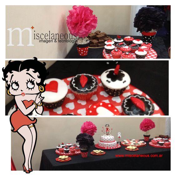 Para un cumpleaños de nena te proponemos a Betty Boop para la ...