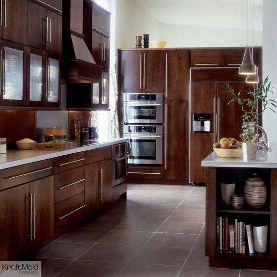 Kraftmaid Kitchen Cabinets Outlet: Beautiful KraftMaid Malibu Cherry Cabinets