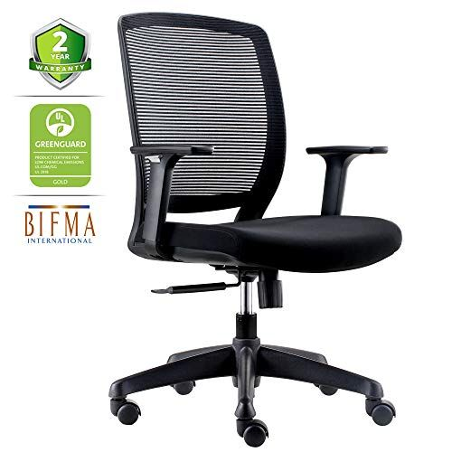 Chairlin Ergonomic Office Chair Comfortable Desk Chair Lumbar
