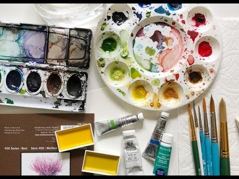 Watercolor Supplies List Watercolor Projects Watercolour