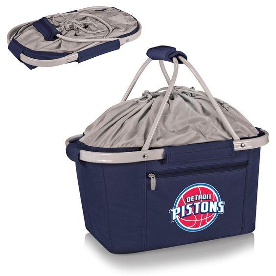 Detroit Pistons Metro Basket by Picnic Time