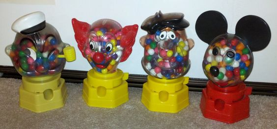 "I wish I still had one of these.   ""Thanks for the gumball, Mickey!"""