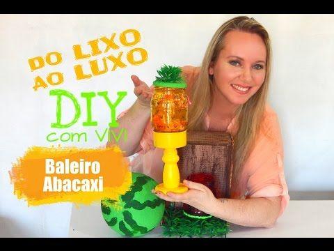 DO LIXO AO LUXO - FESTA INFANTIL / CAIXOTES DE FEIRA E BALDINHO DECORADO - YouTube