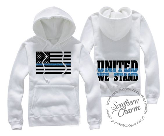 Southern Charm Designs United We Stand Tbl Hoodie Long