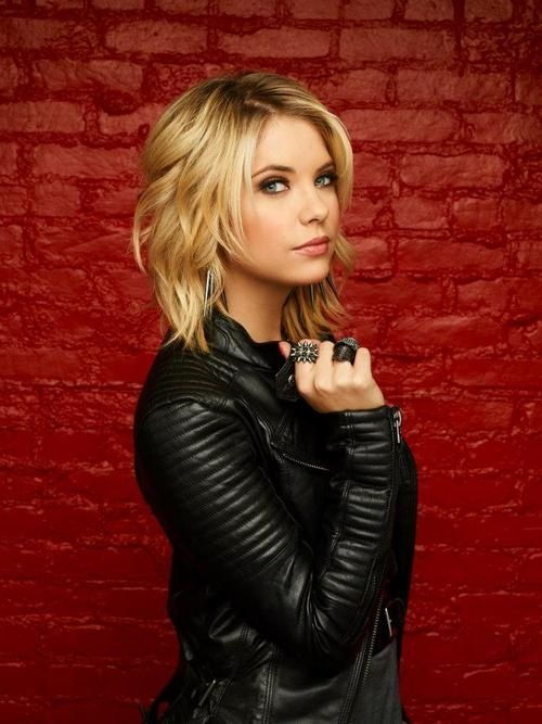 ashley benson hair...should try to curl my hair like this: