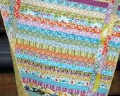 I'm working on this pattern with pirate fabric for Spencer...yup, I'm that crafty.: Quilting Ideas, Scrap Quilt Patterns, Quilts Quilting, Baby Quilts, Sewing Quilts, Easy Quilts, Quilts Jellyroll, Jellyroll Quilts