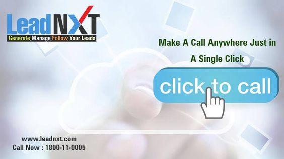#LeadNXT, provides click to call services in #India that allows #website visitors to talk to appropriate #customer service agents, instantly and generate #business #leads. See more @ http://leadnxt.com/click-to-call-services-provider-in-india.html  #ClickToCall #CloudTelephony