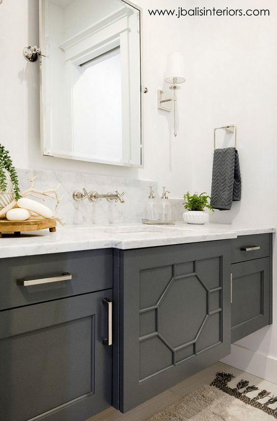 Sherwin Williams Sw7068 Grizzle Gray Dark Grey Cabinet Paint
