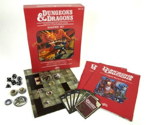 New Red Box Introduces N00bs To The Magical World Of D D Dungeons And Dragons Roleplaying Game Roleplay