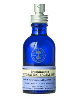 Neals yard remedies.  Organic, gorgeous products.  Cobalt blue glassware.  Love.
