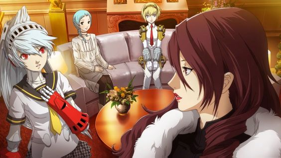 Gameplayaholic: Persona 4 Arena Ultimax Mitsuru trailer [PS3/Xbox ...