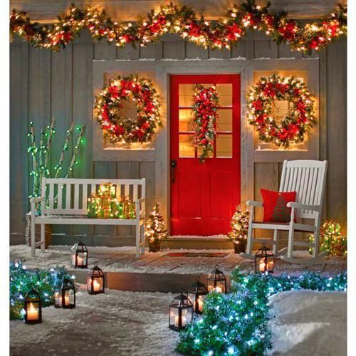Christmas Decor Ideas In 2020 Decorating With Christmas Lights Outdoor Christmas Decorations Christmas Porch Decor