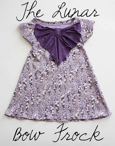 I don't love the bow in front, but an easy tutorial for re-purposing an adult t-shirt to a dress.: Bow Frock, Bow Dresses, Girl Dresses, Big Bows