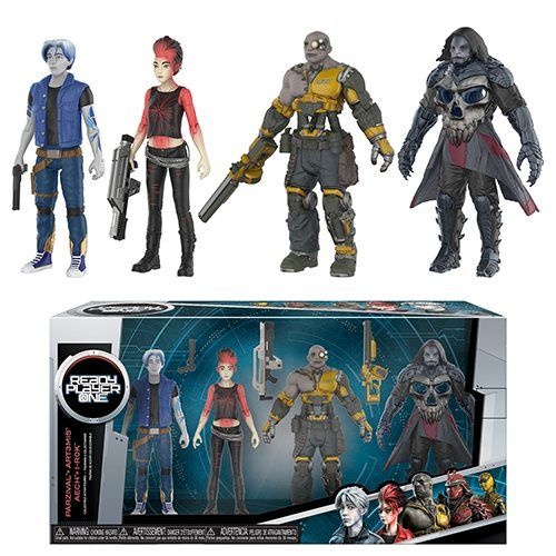 Ready Player One Action Figure 4 Pack Entertainment Earth In 2020 Ready Player One Ready Player One Merchandise Player One